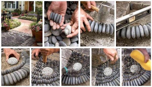 мозайка от камъчета