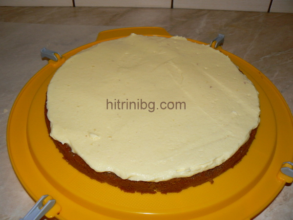 блат за домашна торта