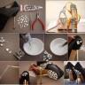 обувки с нова визия от брокат и орнаменти