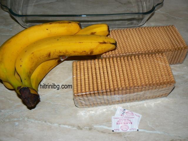 продуктите за бисквитена торта