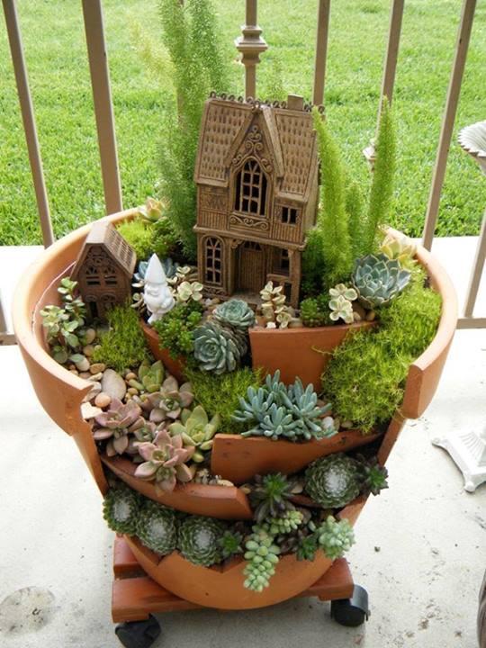 направи си сам красива мини градина
