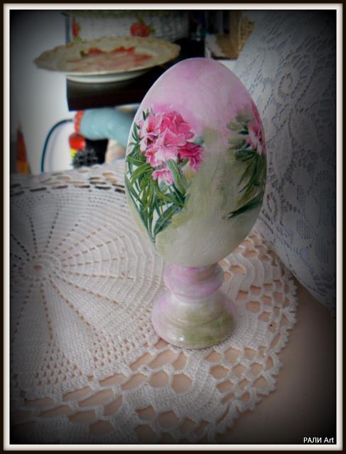 Великден - яйце с декупаж