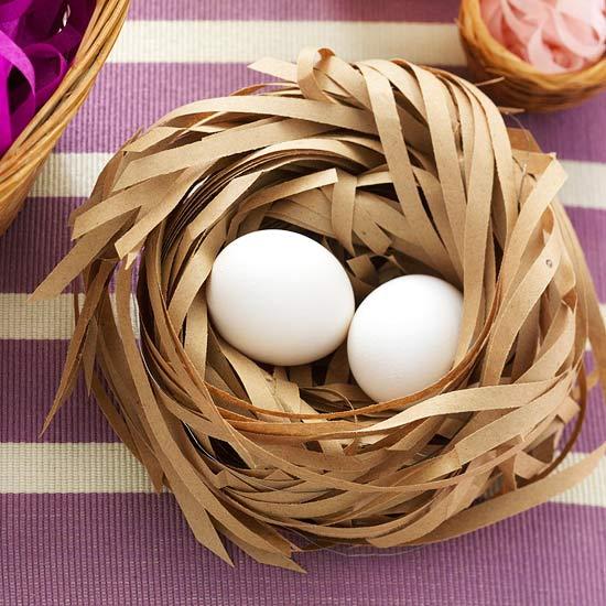Великден - яйце в кошница
