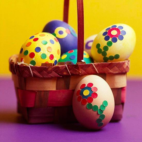 яйца с точки
