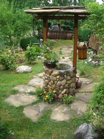 уникални идеи за двора и градината