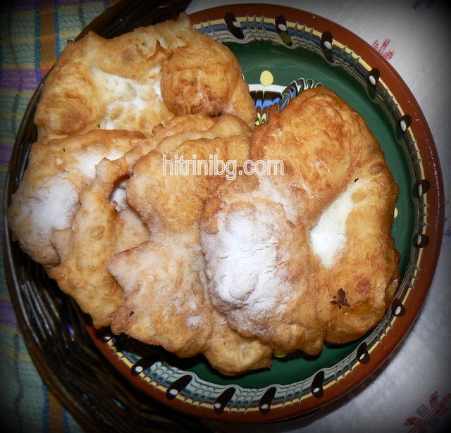 мекици със суха мая