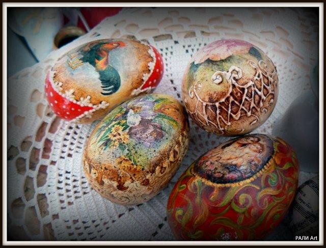 идеи за Великден - готови яйца