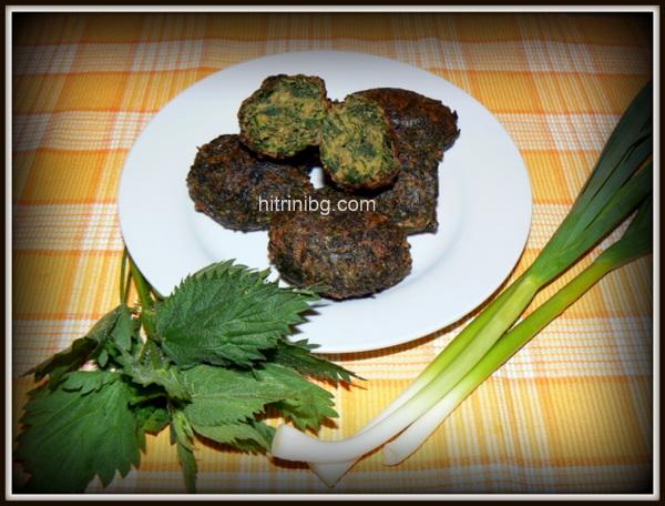 зеленчукови кюфтета с коприва