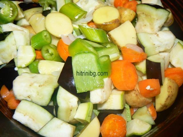 зеленчуците за домашна кокошка