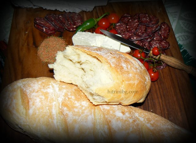 селски хляб с коричка