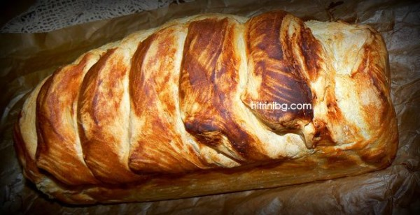 изпечен домашен хляб