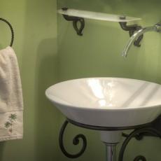 Монтаж на мивка в банята