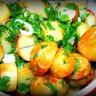 Пресни картофи с чесън