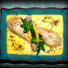 Пилешки бутчета фрикасе