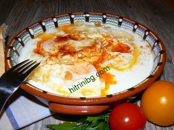 пържени яйца