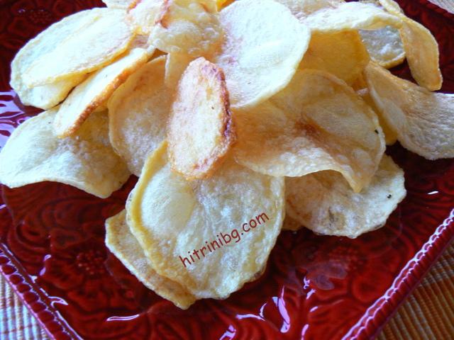 домашен чипс от картофи