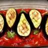 Патладжан решетка с домати