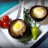 Яйца от пъдпъдъци в гъби