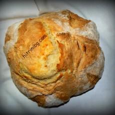 Соден хляб - домашно приготвен