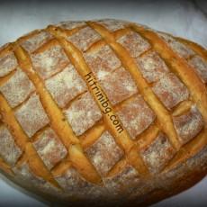 Хляб на плоча във фурната