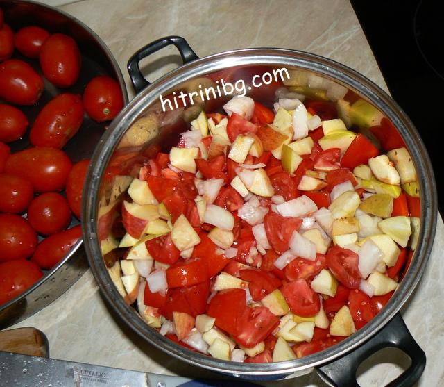 продукти за домашен кетчуп