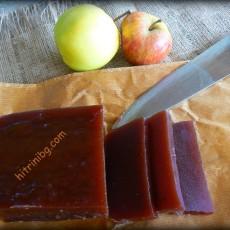 Мармалад на калъп от ябълки