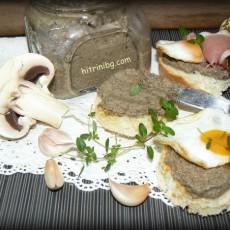 Пастет от гъби печурки