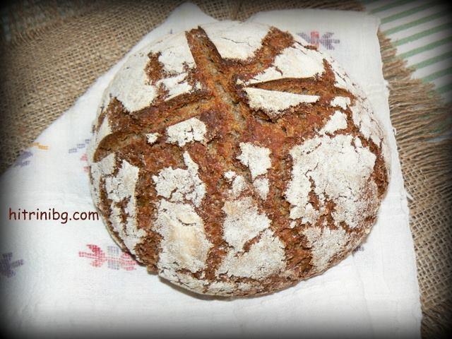 вкусен хляб с квас