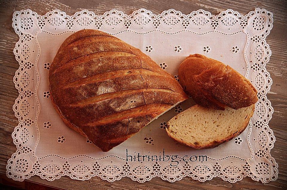 презентация на бял хляб с квас
