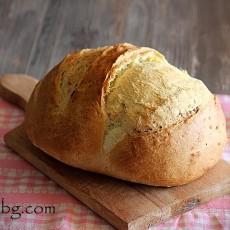 Млечен хляб - домашен.