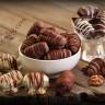Шоколадови бонбони със сини сливи