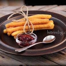 Бухтички - вкусни пръчици