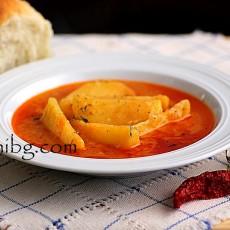 Картофена яхния - домашна рецепта