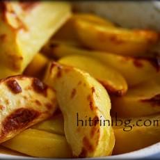 Вкусни картофи печени на фурна