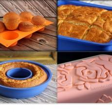 Силиконови форми за печене