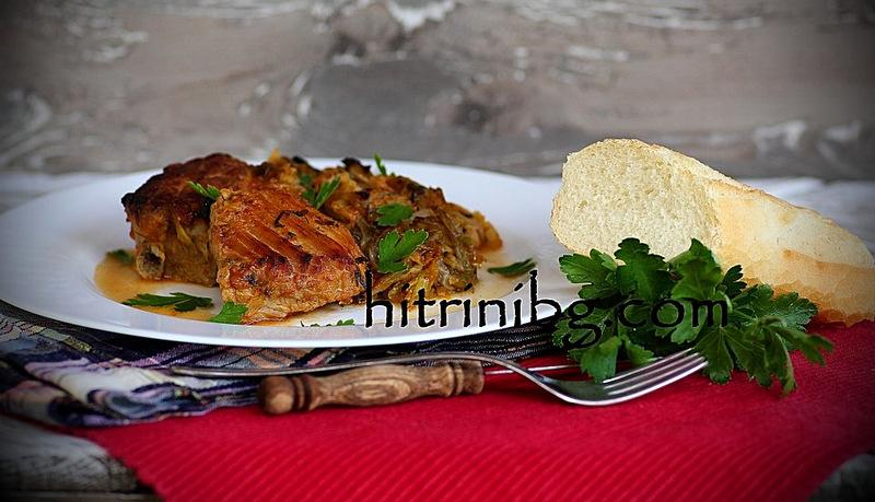 свинско с прясно зеле IMG_39321