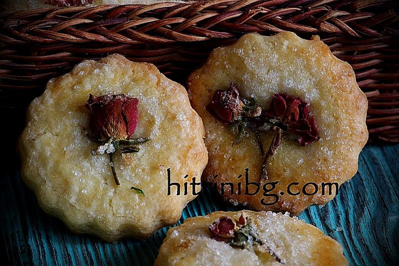 бисквити с рози