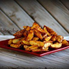 Картофи по селски-домашна рецепта
