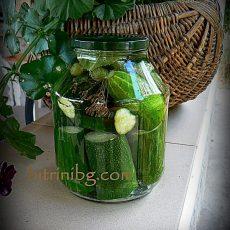 Рецепта за слънчеви краставици