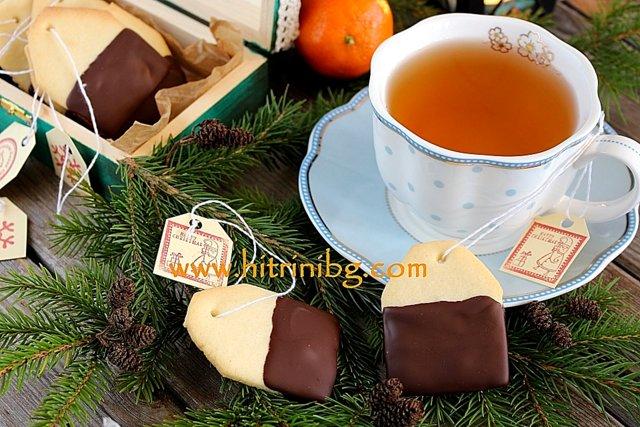 бисквити чай