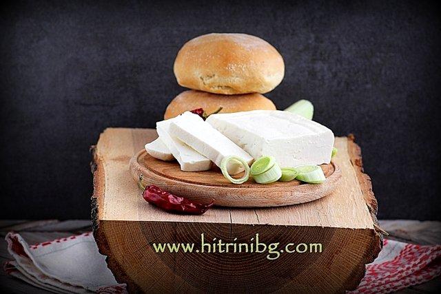 домашно сирене от краве мляко