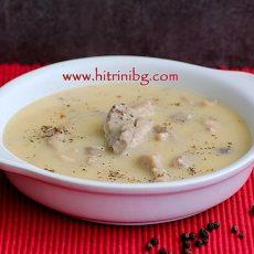Свинско фрикасе - домашна рецепта