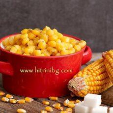 Варена царевица като на баба