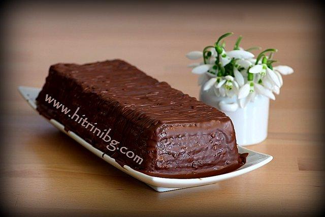 готова торта с крем какао