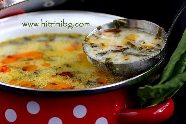 супа от киселец с ориз