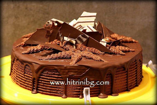 торта с шоколад