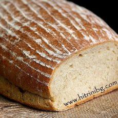 Моята рецепта за домашен типов хляб