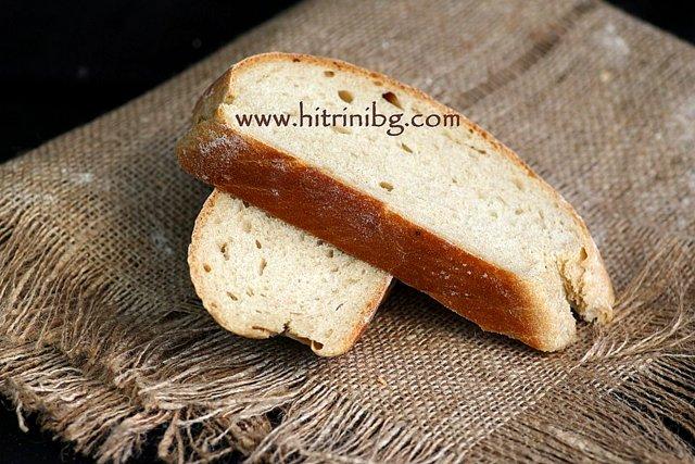 вкусен типов хляб