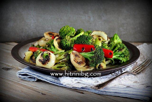 вкусни рецепти с броколи