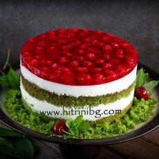 Торта с вишни - наслада за сетивата